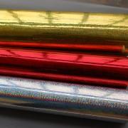 环保无味装饰贴纸DIY包装纸镭射纸圆点图案闪光贴纸即时贴宴会贴