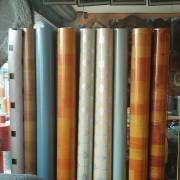 PVC地板革网格防水耐磨卷材商场地板胶防滑2m宽0.8mm厚