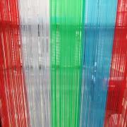 16cm宽1.4mm厚pvc软玻璃门帘防蚊手撕帘丝门帘屏风装饰帘