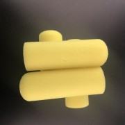 4寸油性海绵滚筒刷10个装多规格滚筒单头